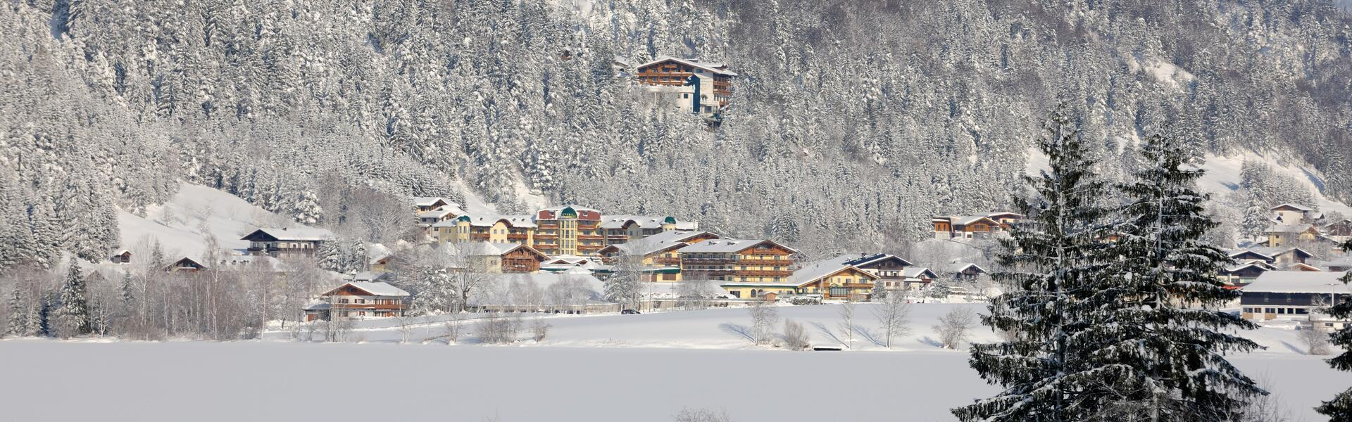 winter in walchsee