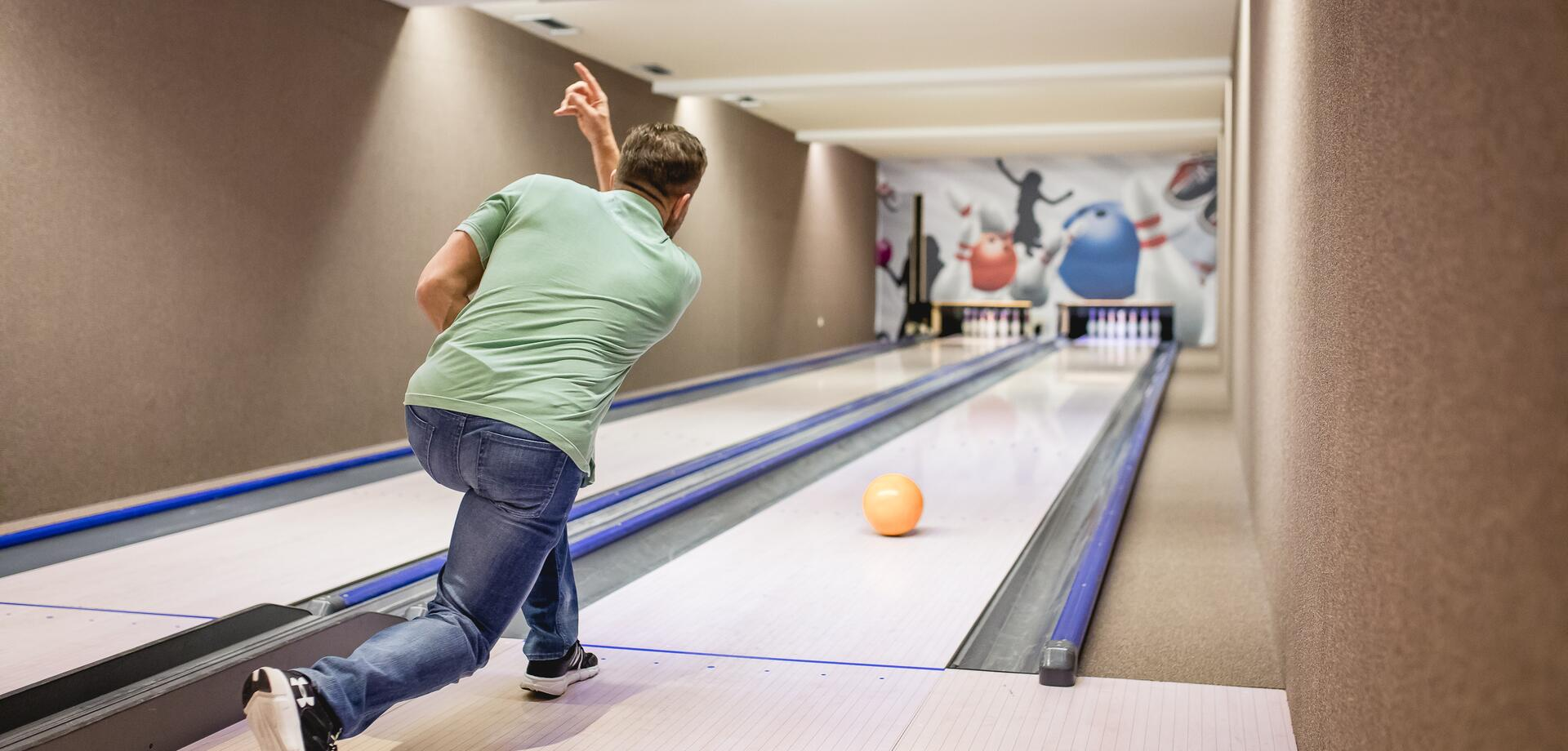 hotel with bowling alley seehof