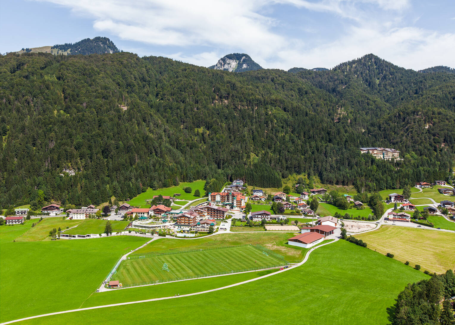 soccer pitch hotel seehof