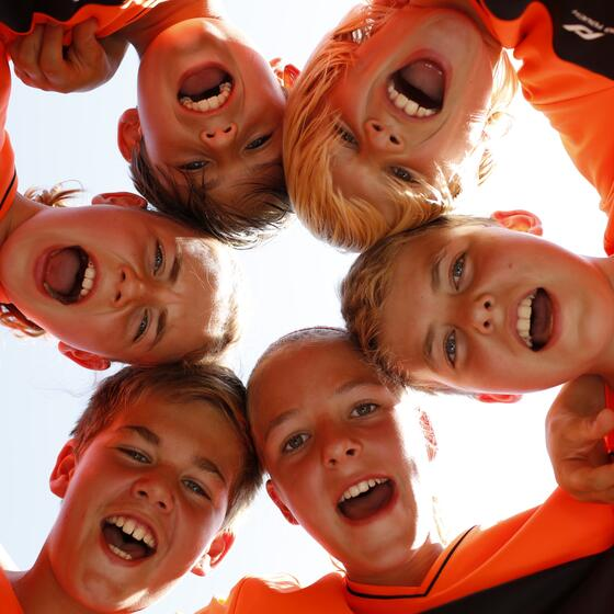 kids soccer team