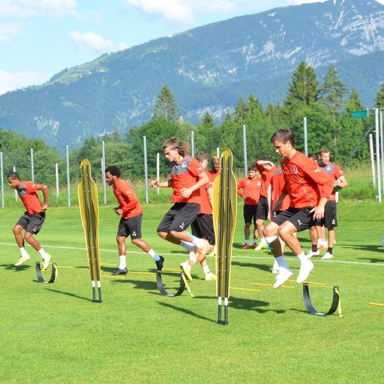 training camp for soccer teams