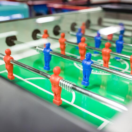 table football mini club kids club childcare