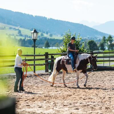 riding holiday tirol with trainer