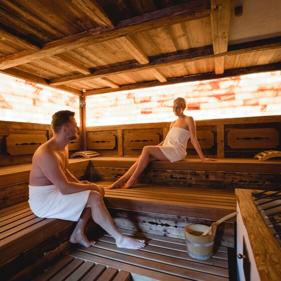 spa area sauna