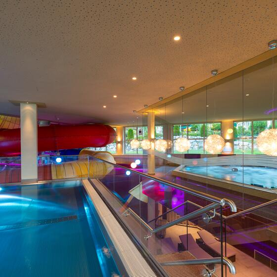 hotel pools seehof walchsee