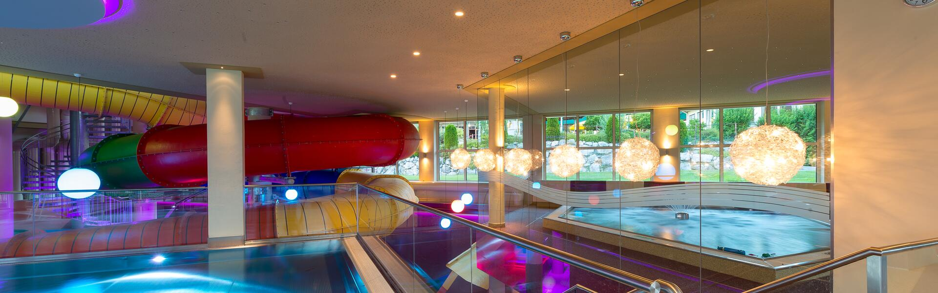 hotel with water slide tyrol