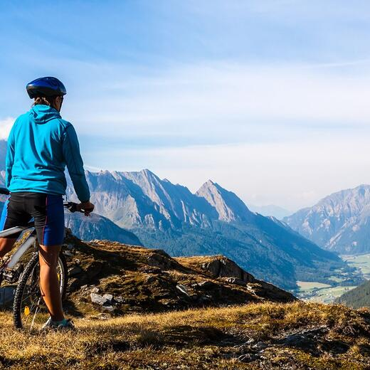 mountainbiken alpen tirol