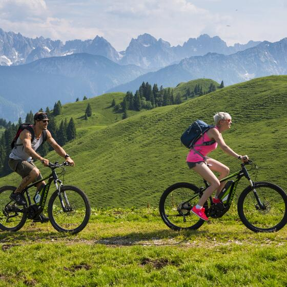 mountainbiking summer holiday walchsee