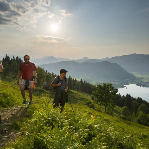 summer holiday walchsee tyrol hiking