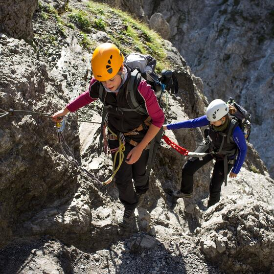 via ferrata sports holiday tyrol
