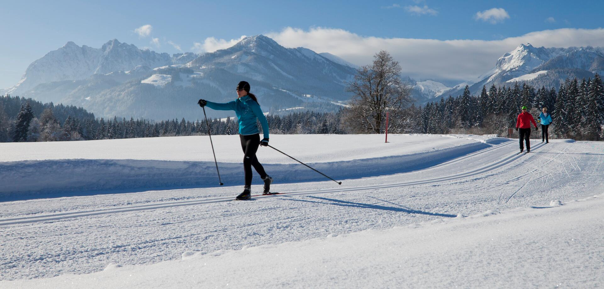 walchsee cross-country skiing
